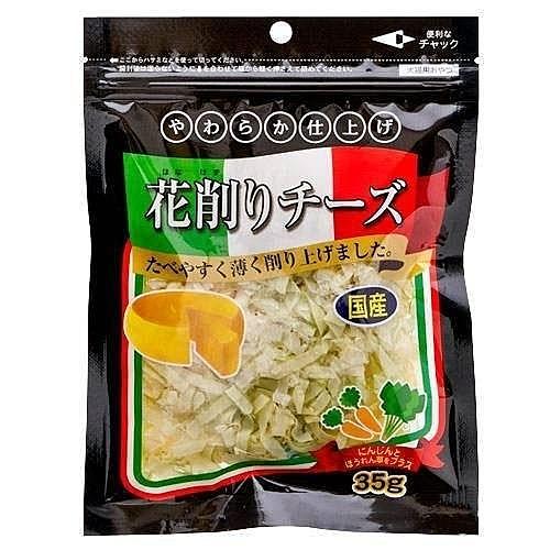 『寵喵樂旗艦店』日本藤澤-蔬菜起司薄片 35g-愛犬.愛貓用 鱈魚香絲