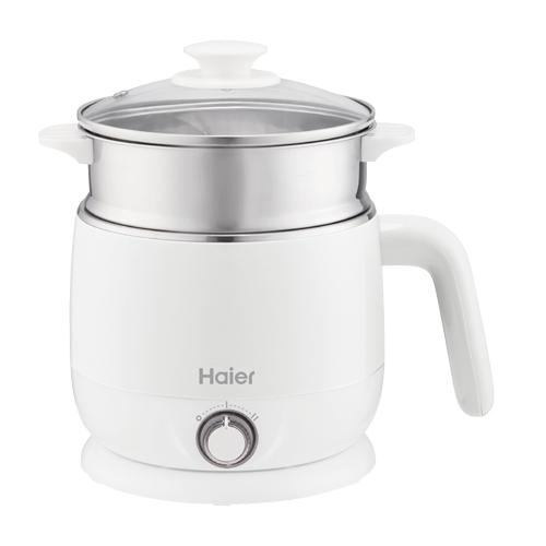 Haier HB-K039MW雙層防燙多功能美食鍋-白