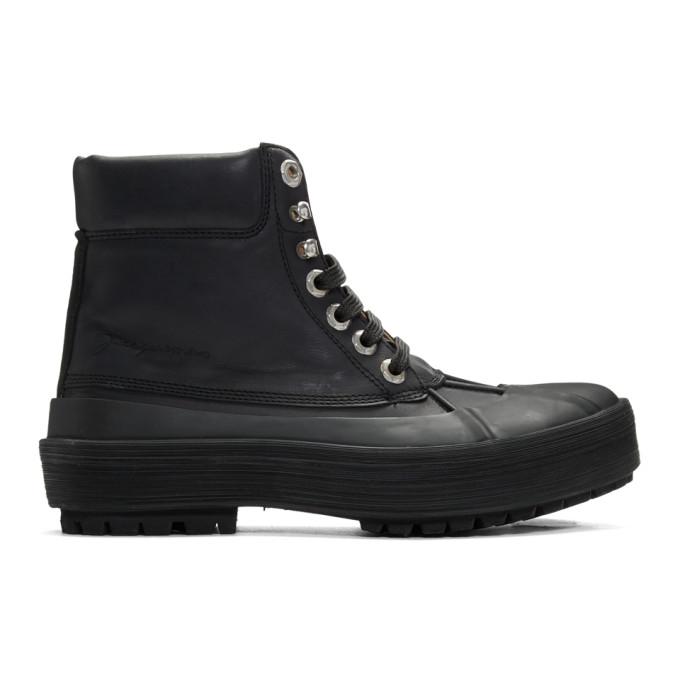 Jacquemus 黑色 Les Meuniers Hautes 高帮踝靴