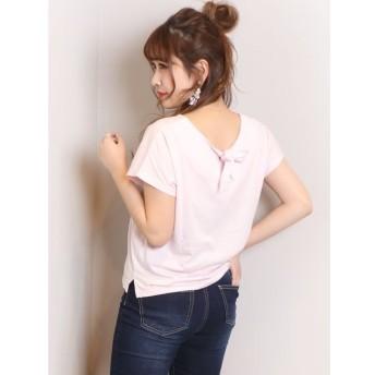【ダズリン/dazzlin】 basic Vneck B-ribon Tシャツ