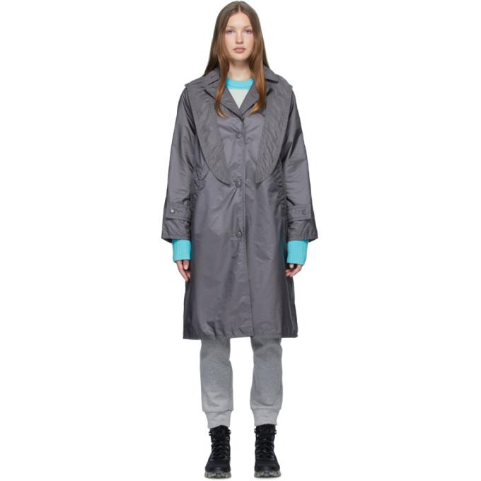 Moncler 灰色 Vanille 大衣