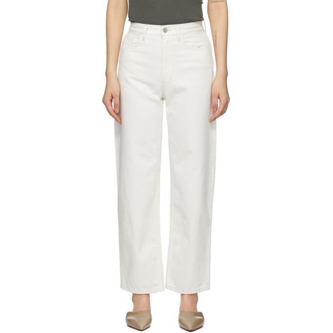 Partow 白色 Meyer 牛仔裤