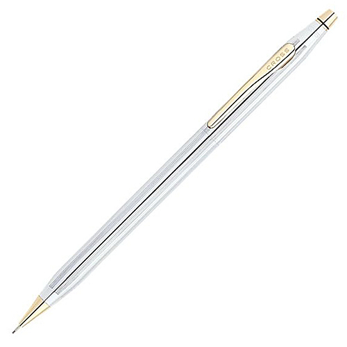 CROSS 高仕 經典世紀系列 金鉻自動鉛筆 0.7mm / 支 330305