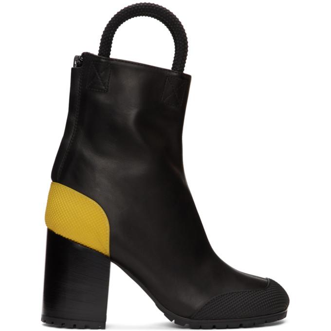 Random Identities 黑色 Worker 踝靴