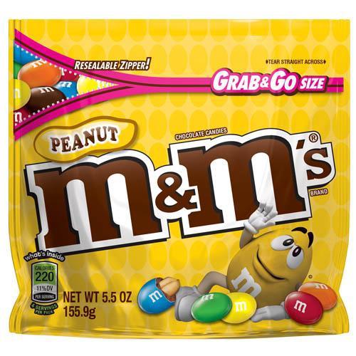 M&M'S花生巧克力155.9g【愛買】