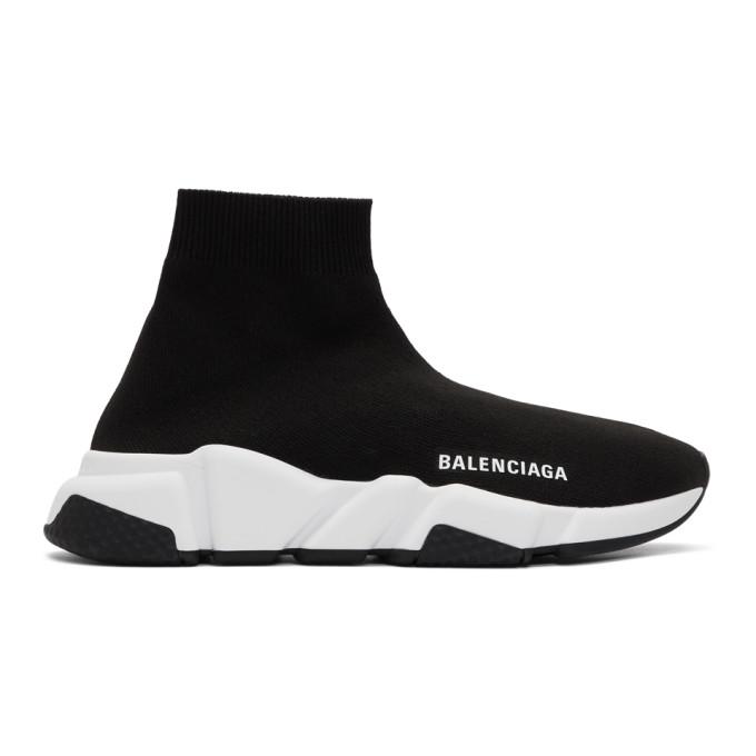 Balenciaga 黑色 Speed 运动鞋