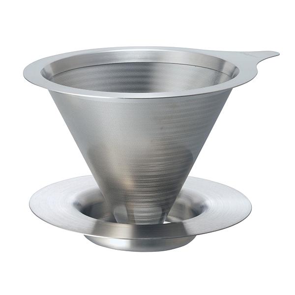 HARIO V60免濾紙 02 金屬濾杯 咖啡濾杯 DMD-02-HSV