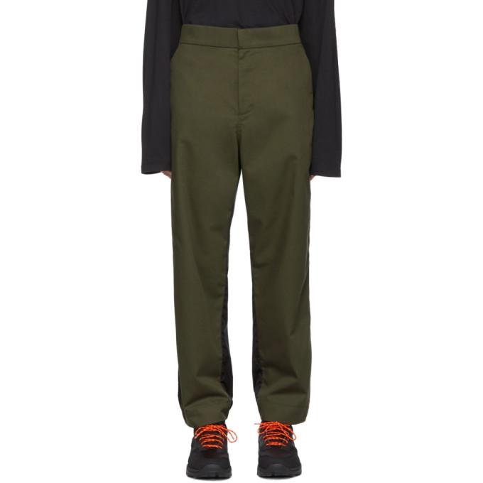 Moncler Genius 5 Moncler Craig Green 绿色 and 黑色尼龙长裤