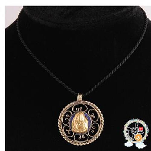 佛藏式寶石項鍊3.5公分  十方佛教文物