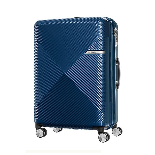 Samsonite新秀麗  25吋 Volant幾何線條PC可擴充飛機輪行李箱