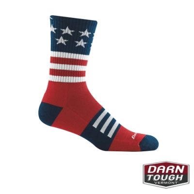 【美國DARN TOUGH】男羊毛襪Captain Cushion健行襪(2入隨機)