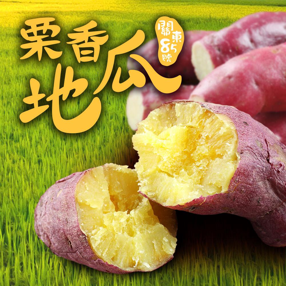 愛上美味口感綿密 皮薄香甜 特a級日本栗香地瓜