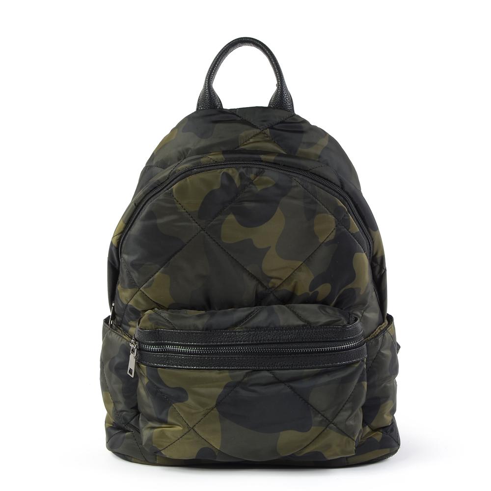 iBrand 輕盈尼龍空氣包媽媽包後背包 迷彩 TYH-T02-1
