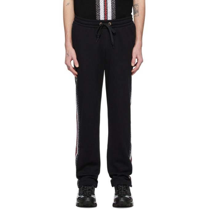 Burberry 黑色 Arnold 运动裤