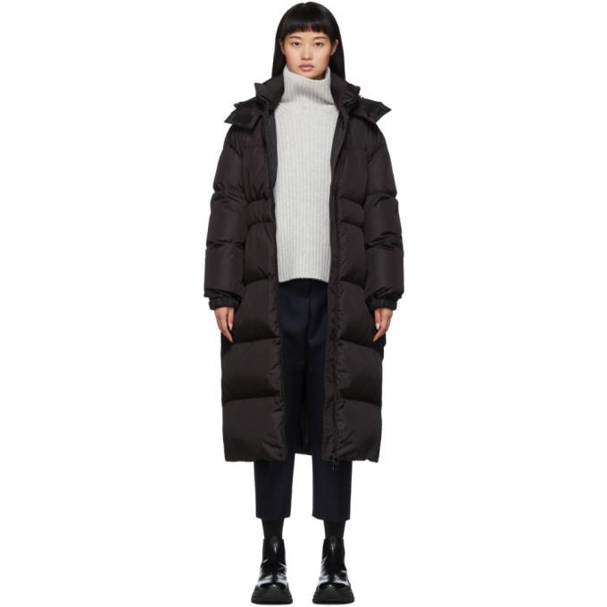 Moncler 黑色 Danubelong 羽绒大衣