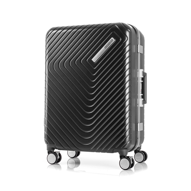 AT 美國旅行者 28吋Esquino 鋁合金細框剎車雙輪行李箱 黑 GN1*07003