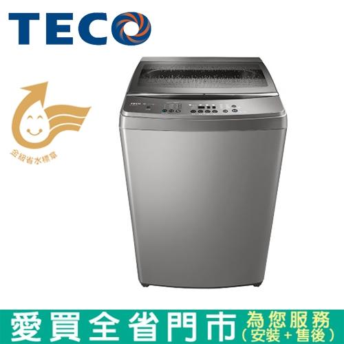 TECO東元15KG DD變頻洗衣機W1568XS含配送+安裝【愛買】