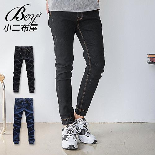 縮口褲 彈性重磅牛仔丹寧褲【NW659039】