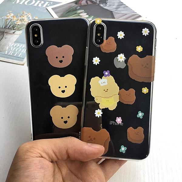 蘋果iphone11pro手機殼xr/xsmax/7/8plus卡通日韓ins可愛6s小
