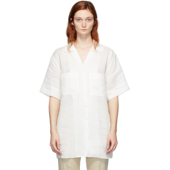Joseph 白色 Brani 短袖衬衫