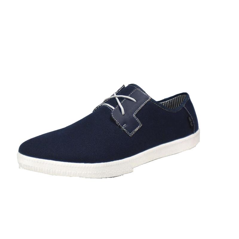 平底鞋帆布鞋子特大尺碼男鞋大腳男鞋加大百搭淺口休閒男鞋-黑/藍/棕44-49【AAA3447】
