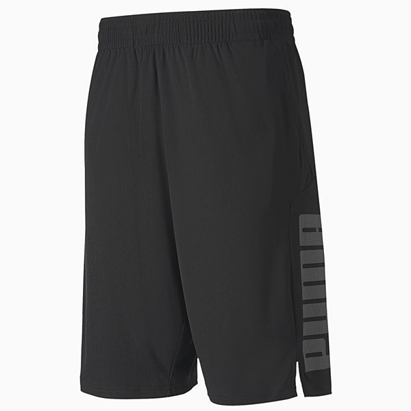 PUMA Collective男款黑色訓練短褲-NO.51899401
