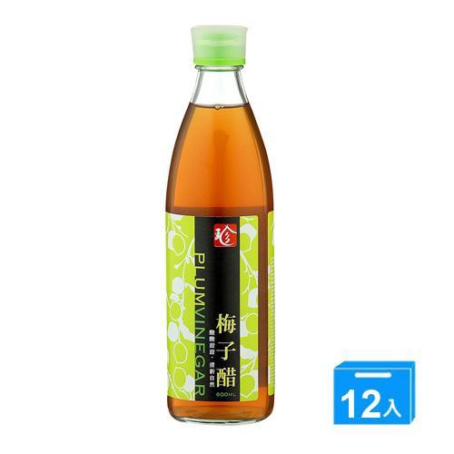 百家珍梅子醋600mlx12【愛買】