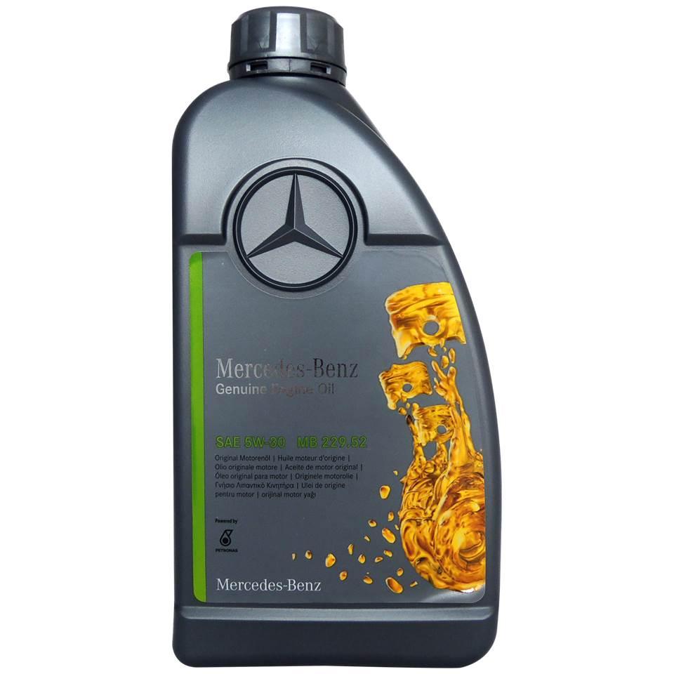 賓士 Mercedes-Benz MB 229.52 5W30 全合成長效高性能汽柴油引擎機油