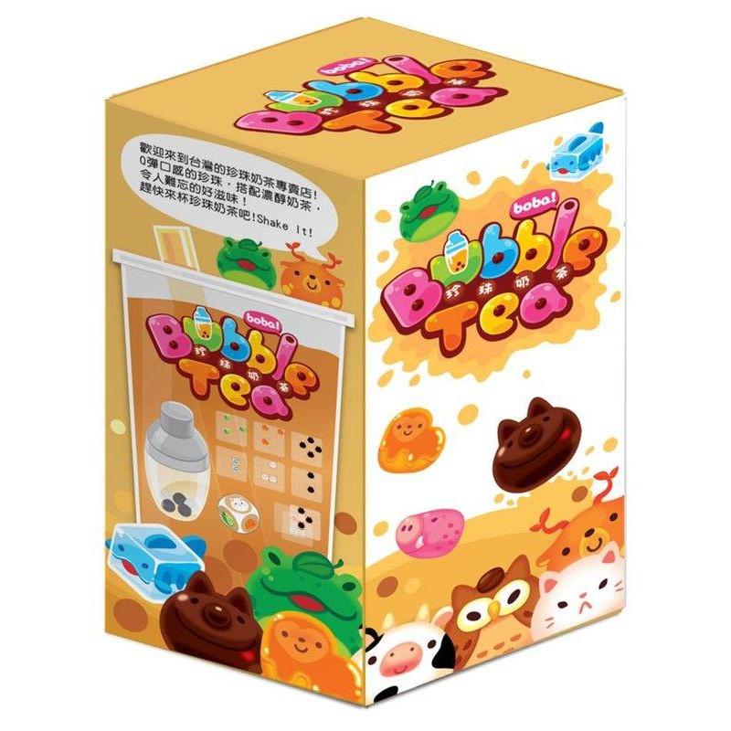 珍珠奶茶 Bubble Tea 繁體中文版 台北陽光桌遊商城