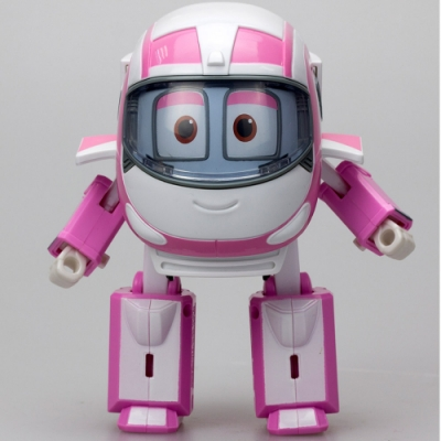 【GOGO小尖兵】4吋變形系列機器人-美美