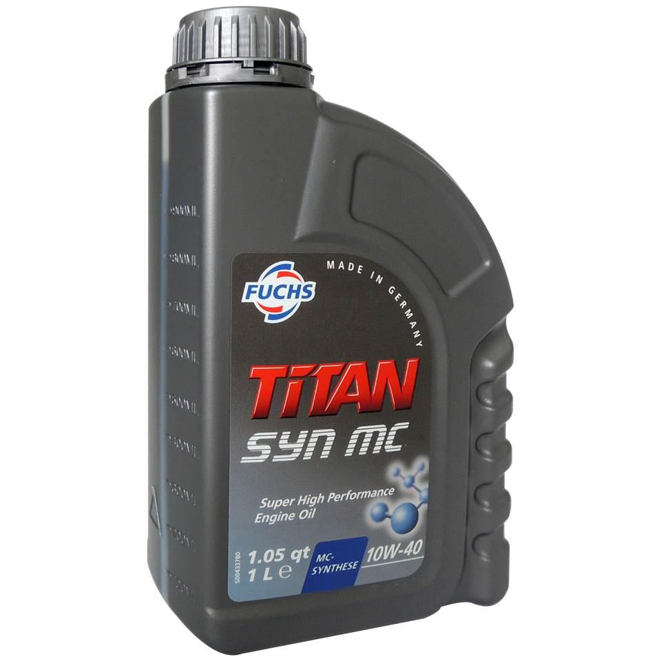 Fuchs TITAN SYN MC 10W40 高效合成引擎機油
