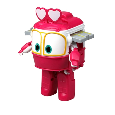【GOGO小尖兵】4吋變形系列機器人-沙莉