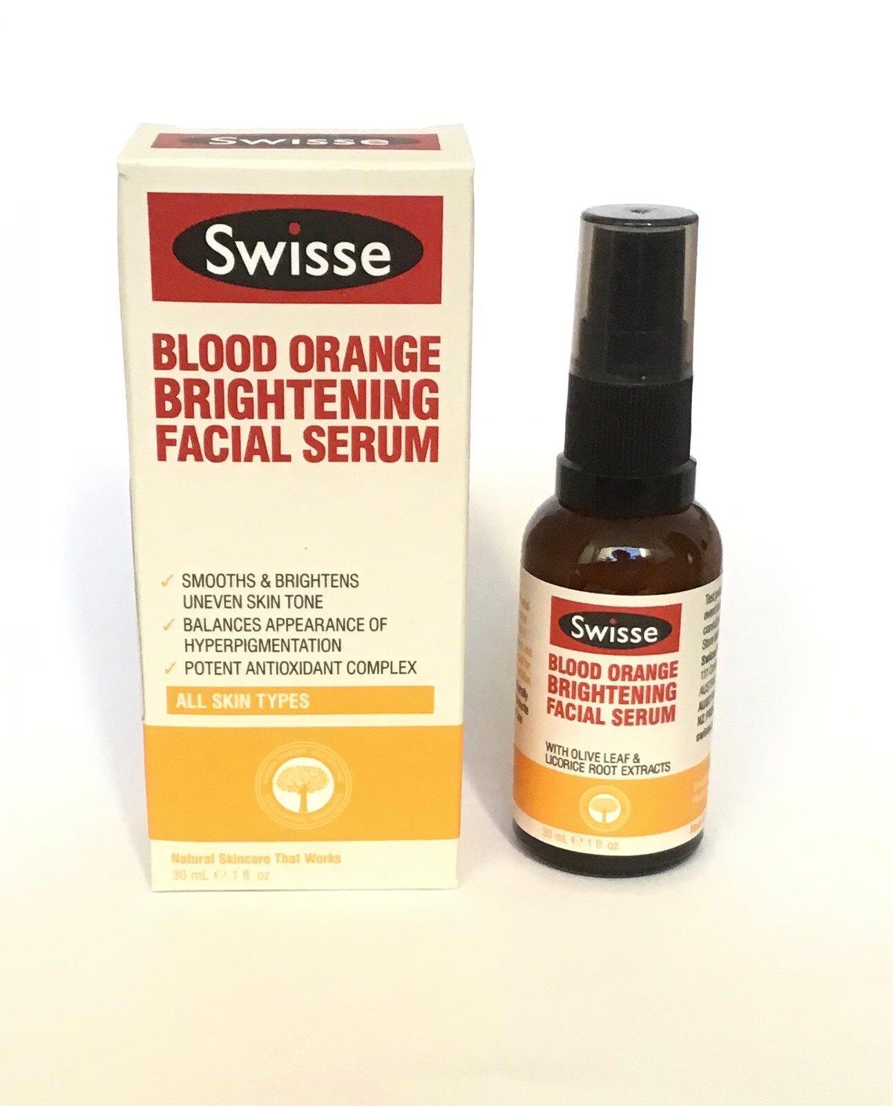 半價 優惠 澳洲 Swisse 大廠  血橙 淨白 精華素 30ml