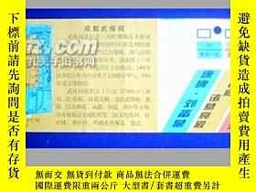 二手書博民逛書店罕見門票:成都武侯祠博物館參觀券2827 20.5X7.5CM