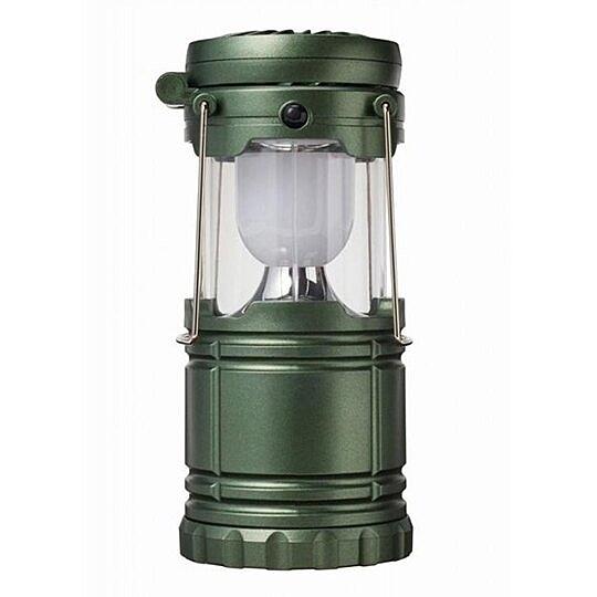 小禮堂 手提式 LED露營燈 風扇 小夜燈 桌燈 手提燈 掛燈 (綠盒裝) 4527231-05698