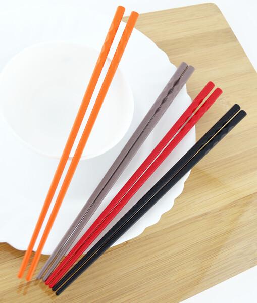 台灣製造豐川筷 (25.5cm *5雙入) 無毒耐高溫 隨機出