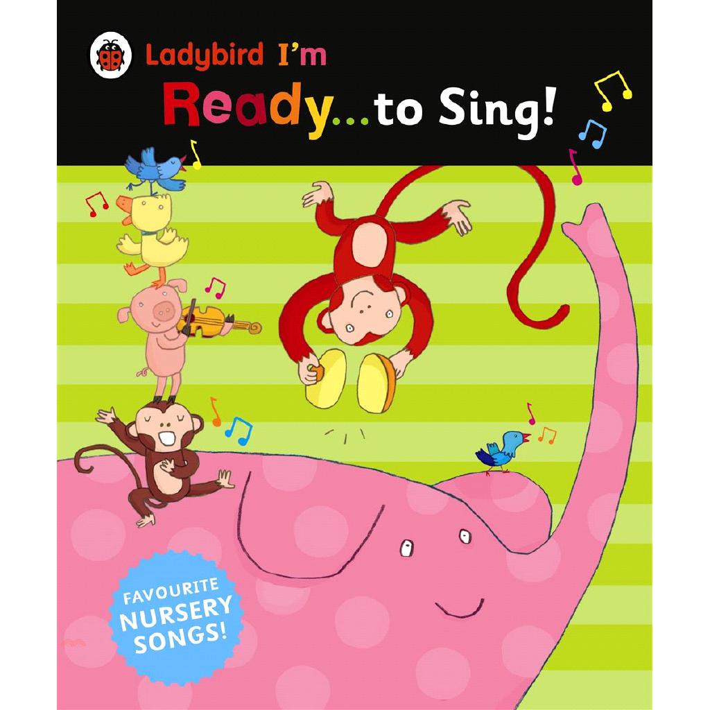 I'm Ready to Sing A Ladybird BIG book【三民網路書店】(精裝)[5折]