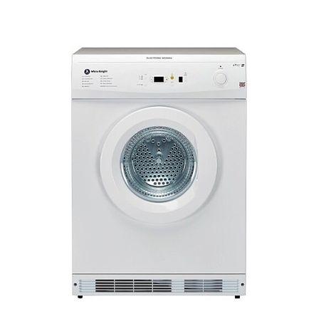 (結帳驚喜價)白騎士 White Knight CL86AW 6KG 智能溫度感應乾衣機 白色 (含運送無