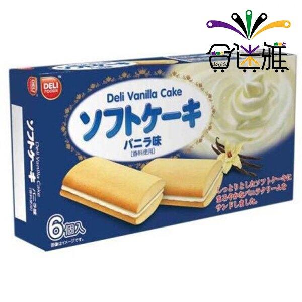 DELI-香草風味夾心蛋糕(108g/盒) -01