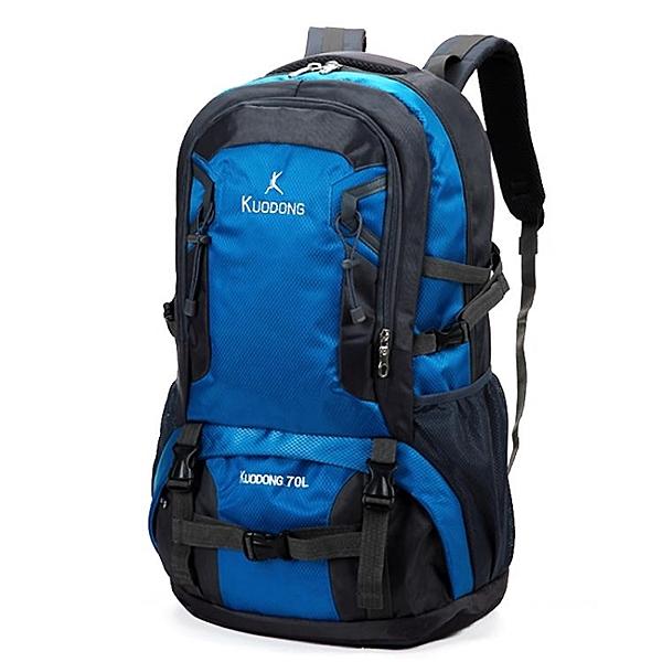 登山徒步旅行背包男雙肩包女超大容量戶外旅行出差行李包輕便書包 印巷家居