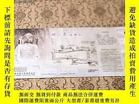 二手書博民逛書店門票罕見龍門石窟景區[明信片]21239