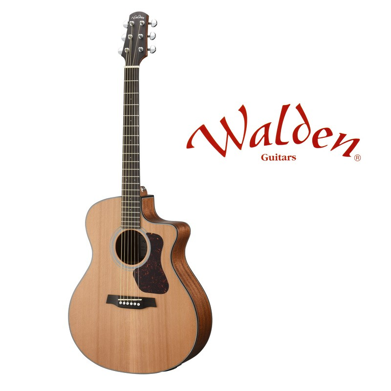 [分期免運] Walden NATURA G570CE 西卡雲杉 面單板 GA 桶身 民謠吉他 電木吉他 [唐尼樂器]