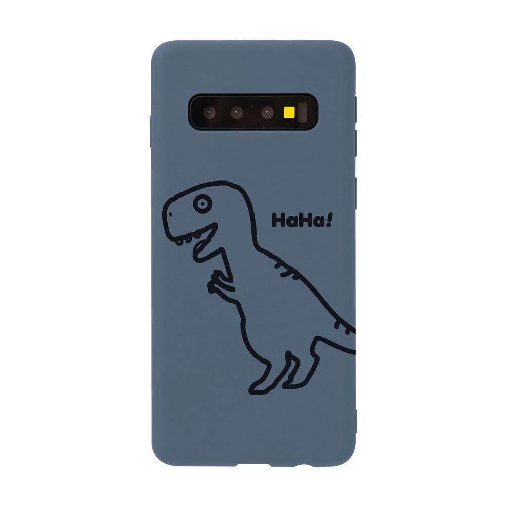 【獨家設計】奇妙恐龍線條samsung手機殼