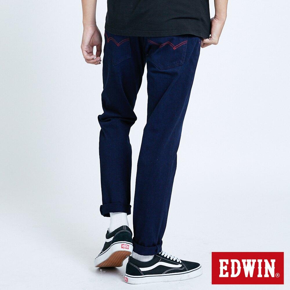 EDWIN JERSEYS 迦績 EJ6 大尺碼 低腰椎形AB牛仔褲-男款 原藍磨 TAPERED