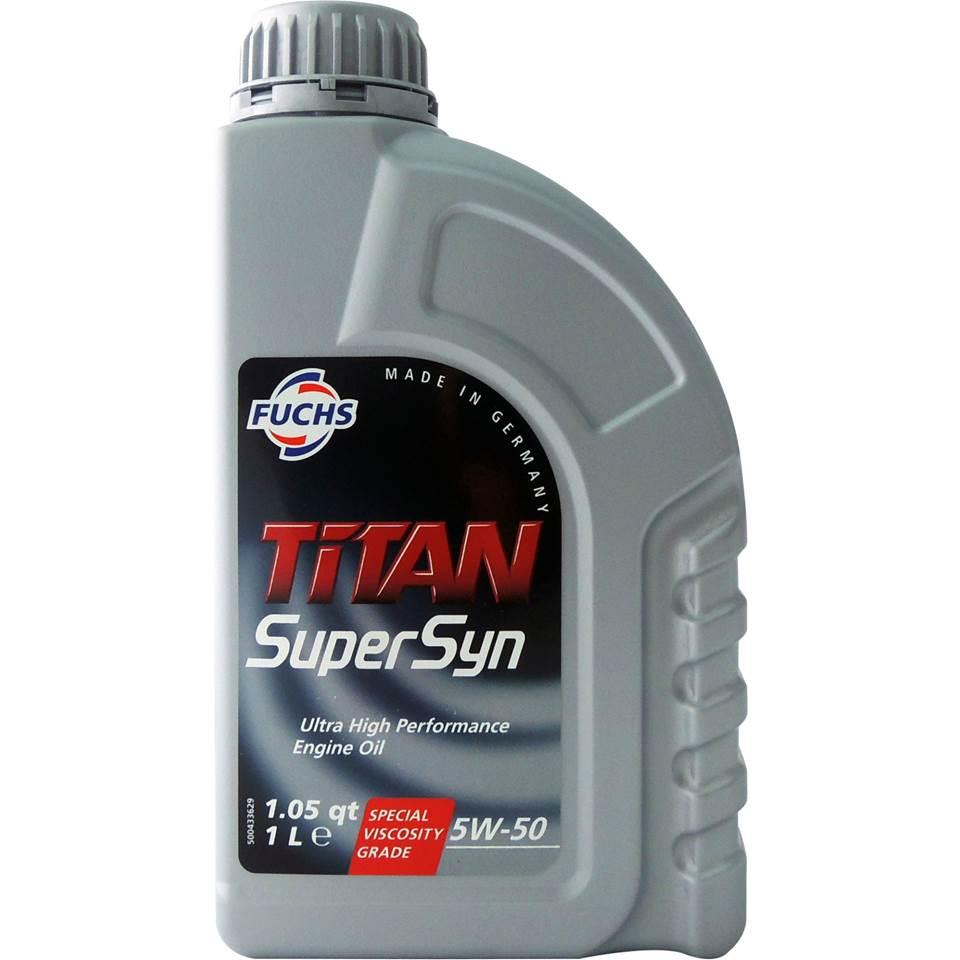 Fuchs TITAN SUPERSYN 5W50 長效全合成機油