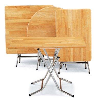 【上丞辦公家具】台中免運 774-1 2.5尺圓 實木合桌 方桌 收納桌 折合桌 拜拜供桌 合桌 圓桌 餐桌