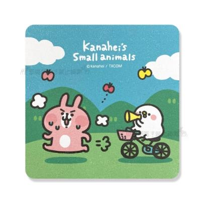 官方授權 Kanahei卡娜赫拉 吸水杯墊 硅藻土 天然植物纖維 (跑步)