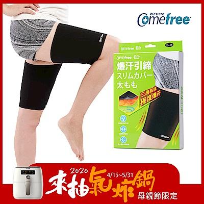 Comefree緊緻塑型爆汗套-大腿- S/M、L/XL