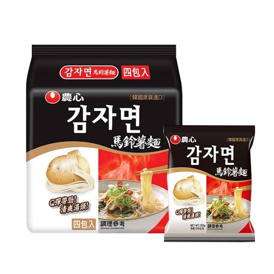 韓國 農心 馬鈴薯麵 單包入/袋裝四包 / 袋裝五包 拉麵 泡麵 馬鈴薯