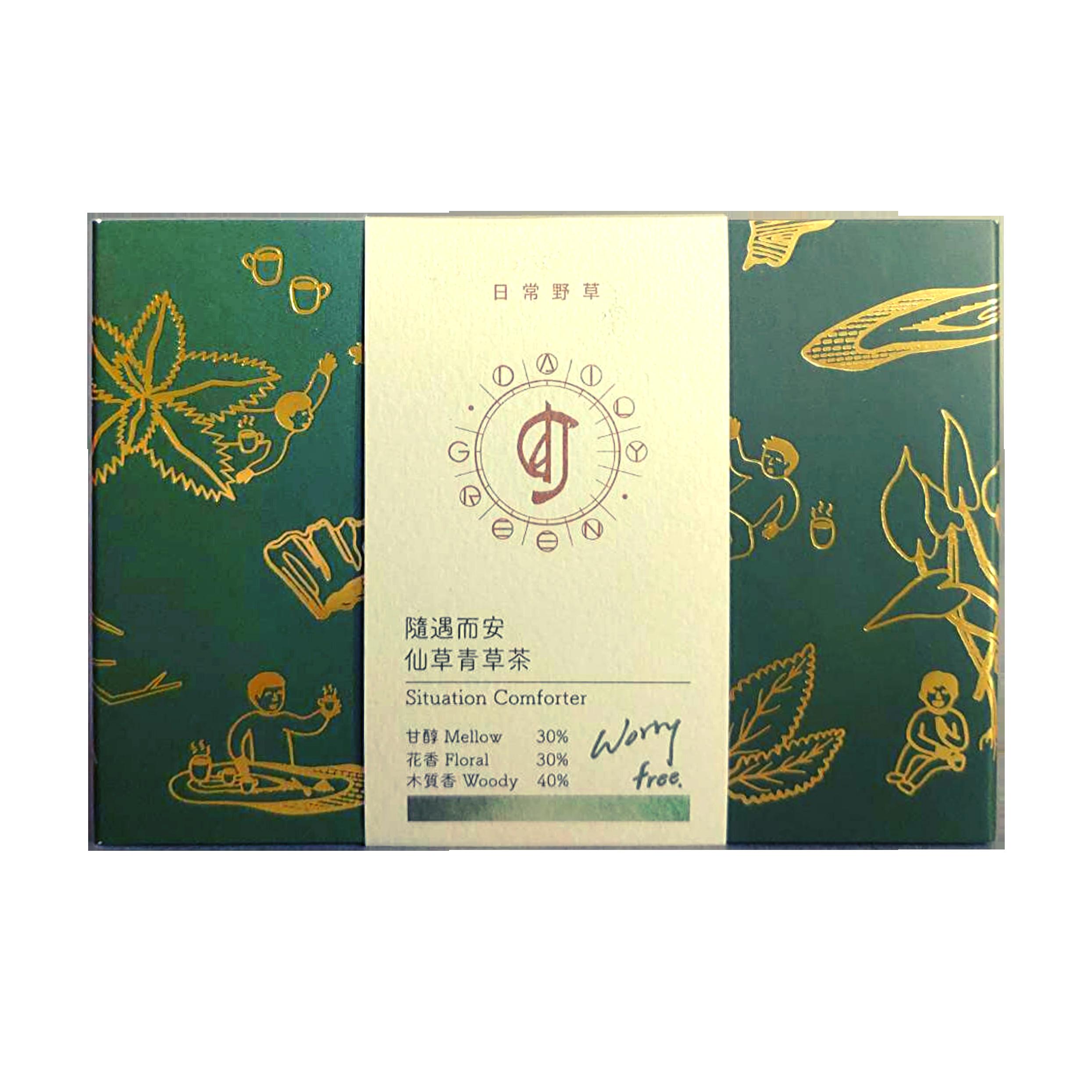 【日常野草】仙草青草茶包 5入 - 茶包 青草茶 養生茶包 冷泡茶包 天然青草